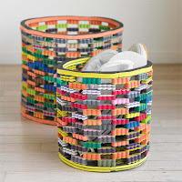 flip flop bins - round