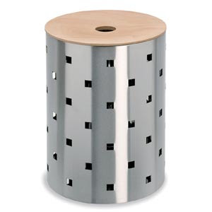 stainless steel laundry hamper