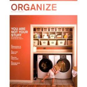 Organize Magazine cover