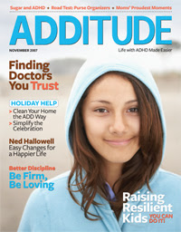 ADDitude magazine cover