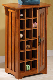 shoe storage cabinet with interior cubbies, Craftsman
