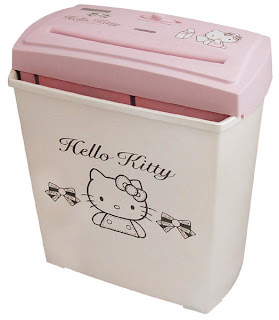Hello Kitty shredder