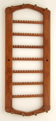 jewelry rack in cherry