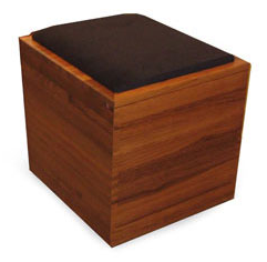 teak file storage ottoman