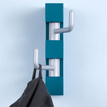 coat hook, blue