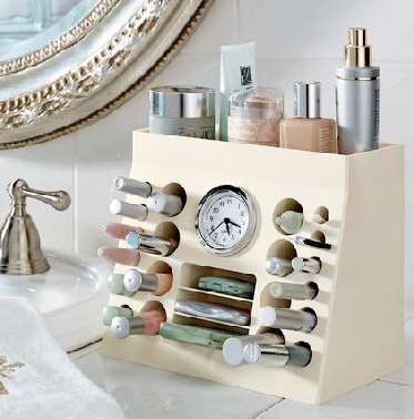 tabletop cosmetics organizer