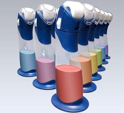 Paint Buddy touch-up paint storage