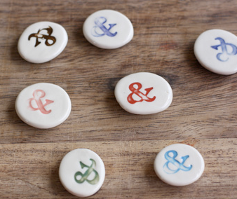 ampersand magnets