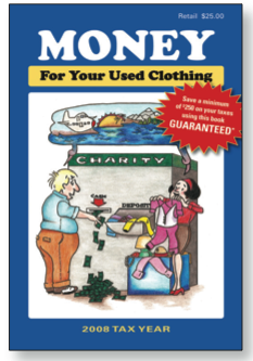 Money For Your Used Clothing booklet cover