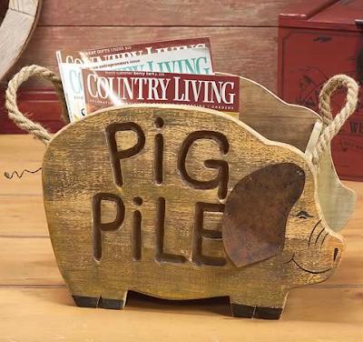 create shaped like a pig, says Pig Pile