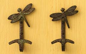 2 dragonfly hooks