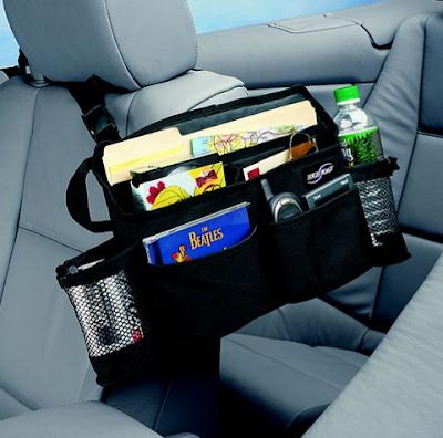 car organizer for passenger seat