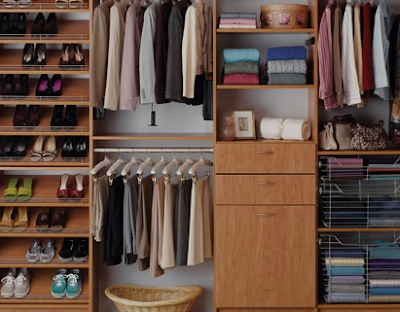 clothes closet