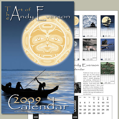 calendar - the art of Andy Everson