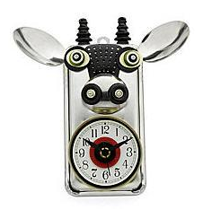 cow clock