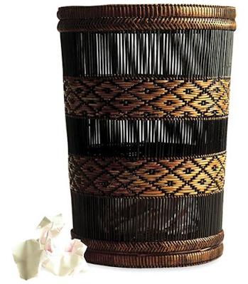 pretty wastepaper basket