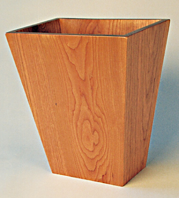 cherry wastebasket
