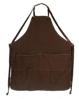 full apron, canvas