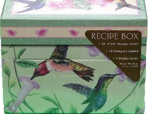 hummingbird recipe box
