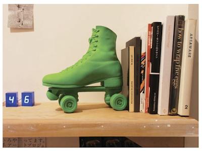 roller skate book stop