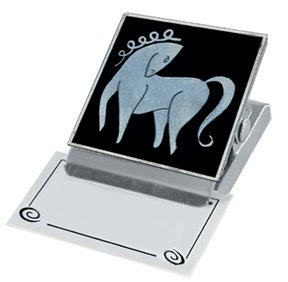 clip magnet with horse