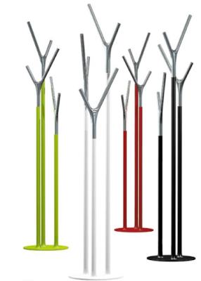 clothes stands, four colors