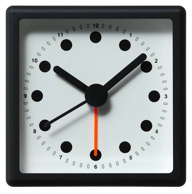 basic analog alarm clock