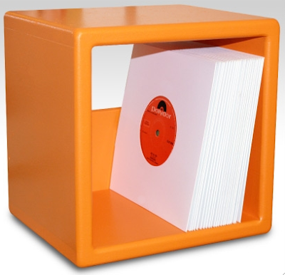 vinyl record (LP) storage cube