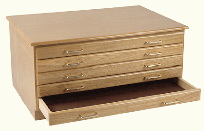 Richeson flat file, Oak