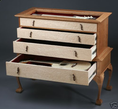 guitar storage / display chest