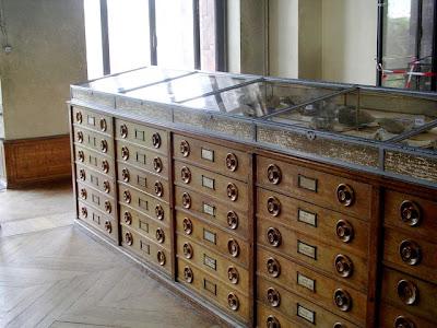 specimen cabinets, les Galeries de Paléontologie et d'Anatomie comparée