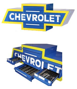 Chevrolet logo toolbox