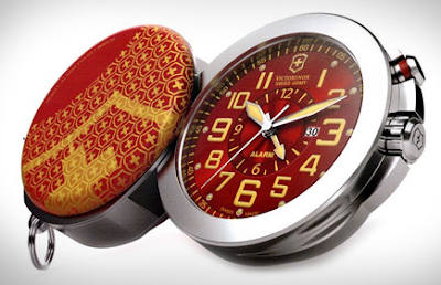 Swiss Army travel alarm clock