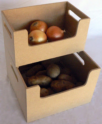stackable potato and onion bins