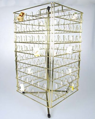 revolving brass thimble rack