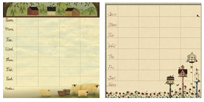 magnetic weekly reminder pads