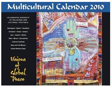 multicultural calendar 2010
