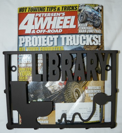 bathroom magazine rack