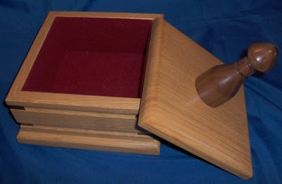 wooden bos,oak and walnut