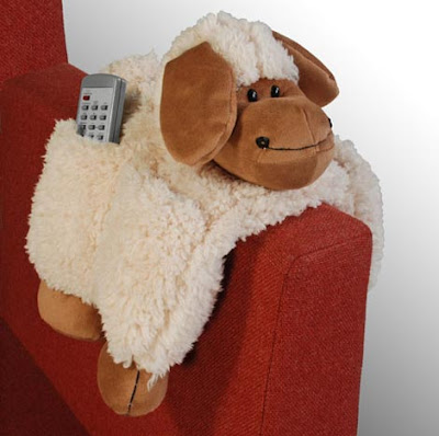 sheep sofa tidy holds remotes