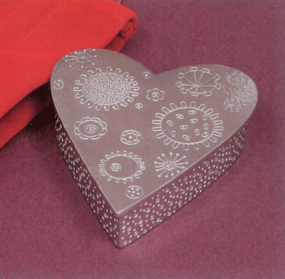 heart-shaped treasure box