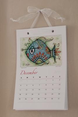 sea life 2011 wall calendar