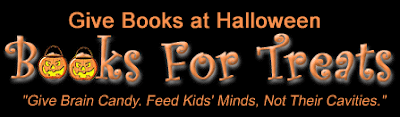 Give Books at Halloween - Books for Treats