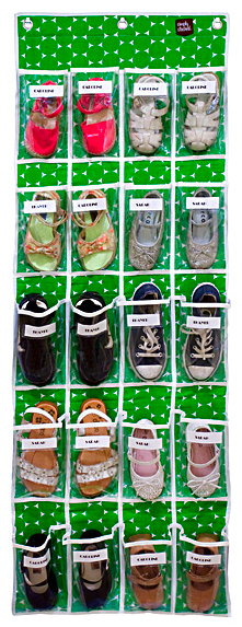 Over-the-Door Shoe Organizers: