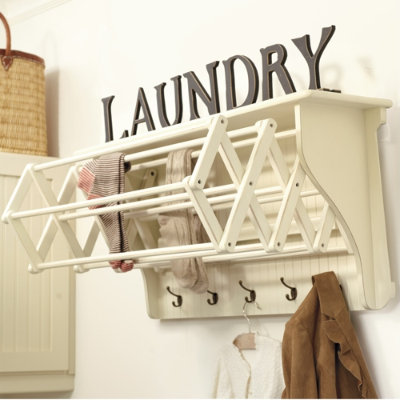 Jeri s organizing decluttering news drying the laundry Laundry room drying rack ideas