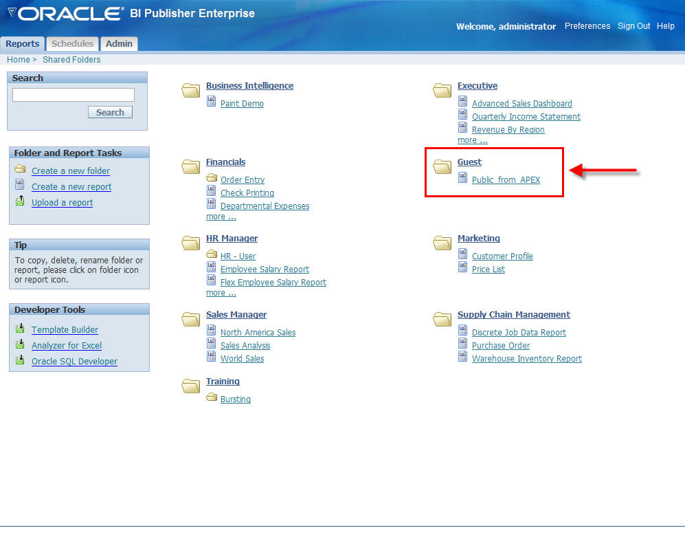 Dimitri gielis blog oracle application express apex call bi when you call that report by clicking on it youll see the result you can adapt it to see it in a different output format then the most important part baditri Images
