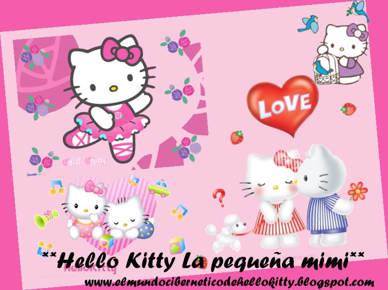 El mundo cibernetico de Hello Kitty