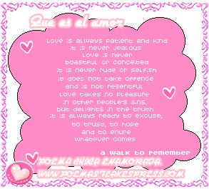 letras de musica romantica en ingles: