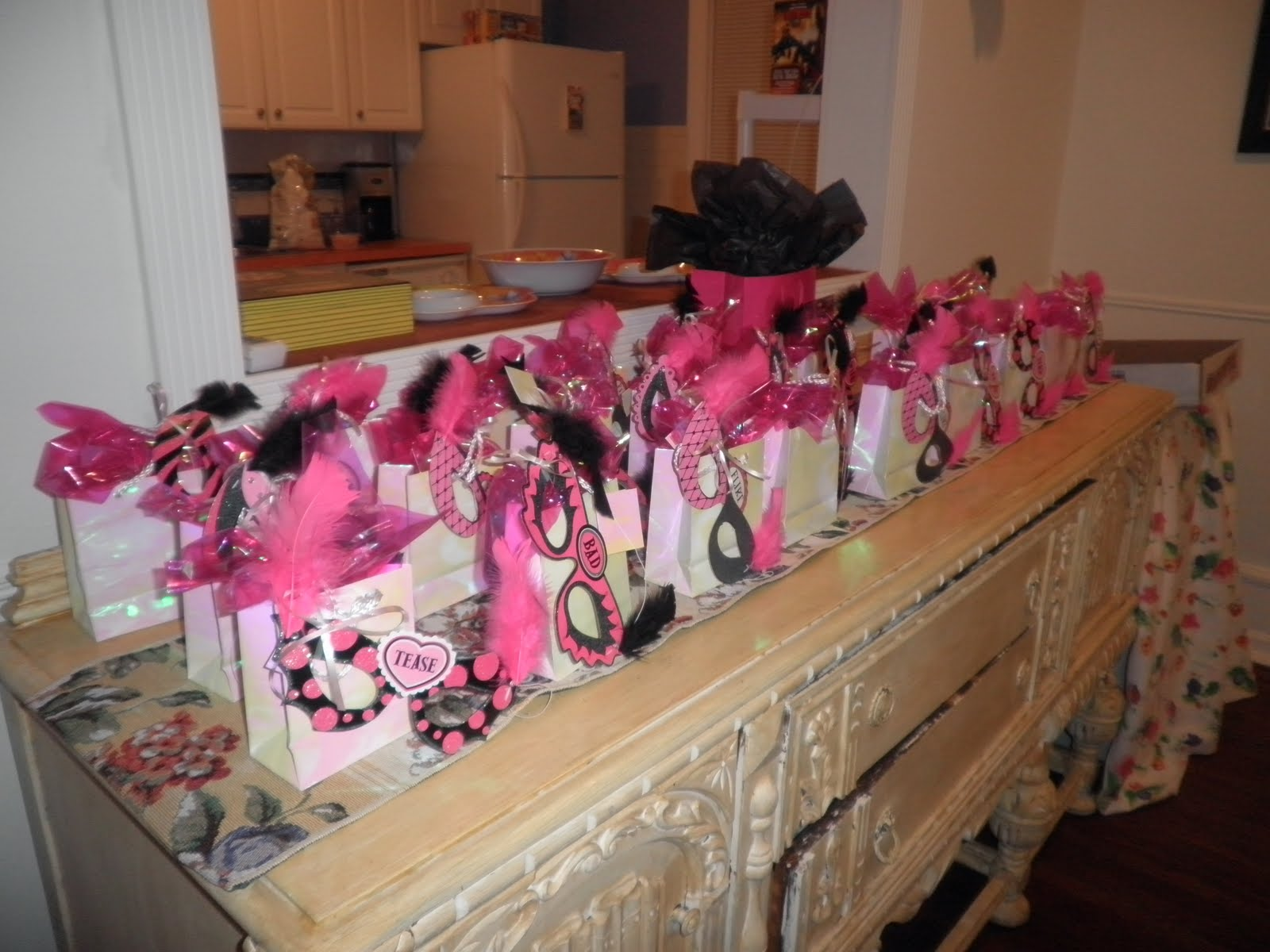 My Girlfriends House Gift Bags