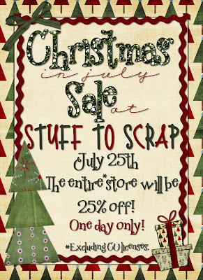 Christmas in July Sale & A *Freebie*